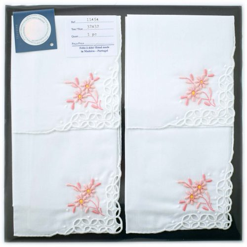 Embroidered handkerchief 11454-P