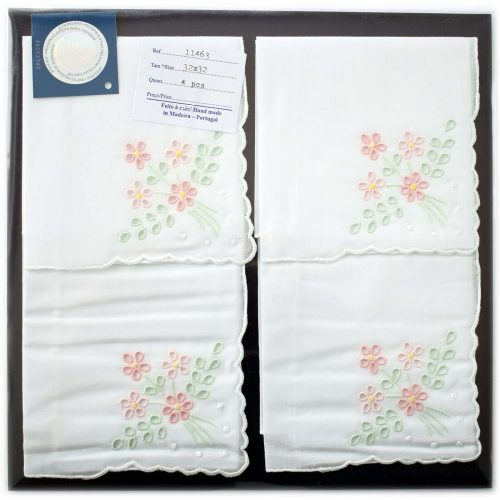 Embroidered handkerchief 11463-P