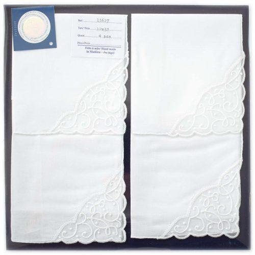 Embroidered handkerchief 11627
