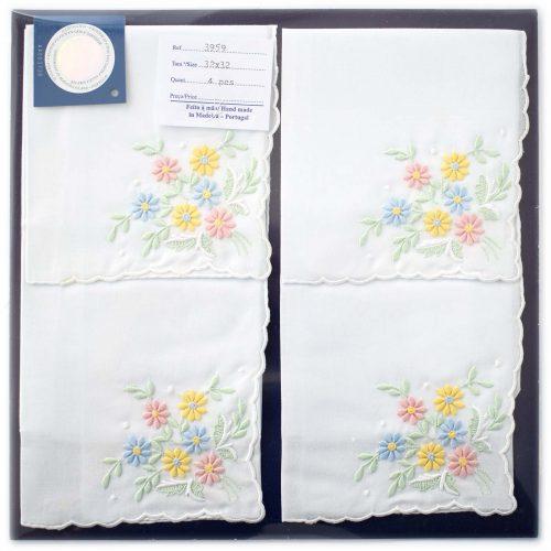 Embroidered handkerchief 3959-C